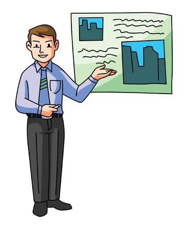 Man Presentation