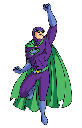 Super Hero 일러스트