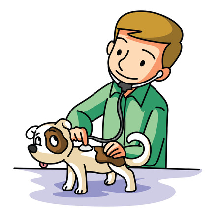 veterinarians: Pet Doctor Illustration