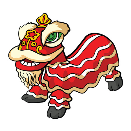 stroke of luck: chinesse lion dance
