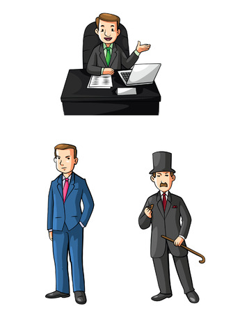 colection: Young Executive Illustration