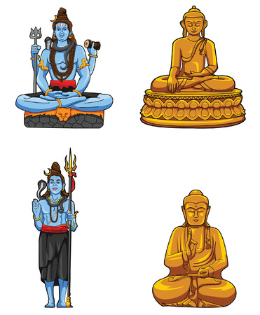 thai buddha: Statue Collection