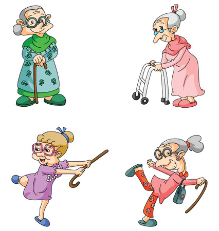 pensioners: Old Woman