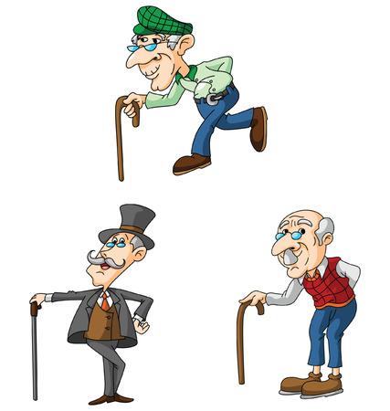 hombre calvo: Viejo
