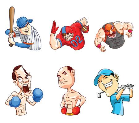 wrestle: Sport Activity Illustration