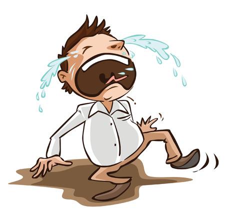 Man cries Imagens - 40168547