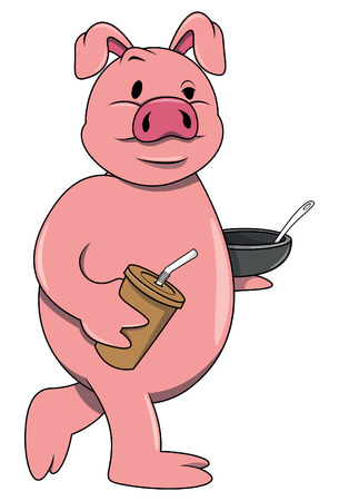 hungry: Hungry pig