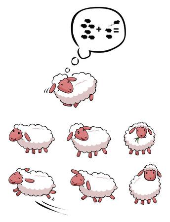 oveja: Colección Ovejas Vectores
