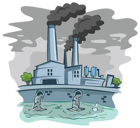 contaminacion aire: Mala fábrica