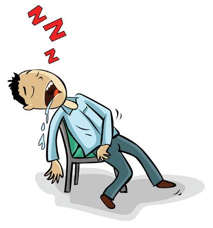 sleeping man: Sleeping man