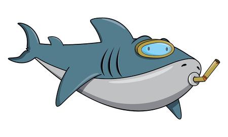 대양의: Swimming Shark