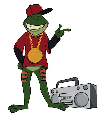 gangsta: Rapper frog