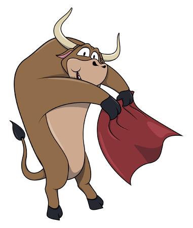 red bull: Bull matador