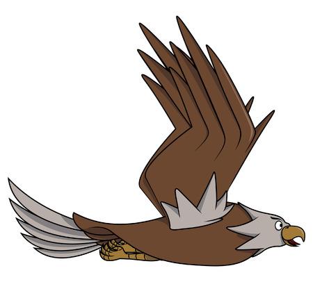 cartoon eagle: Eagle cartoon
