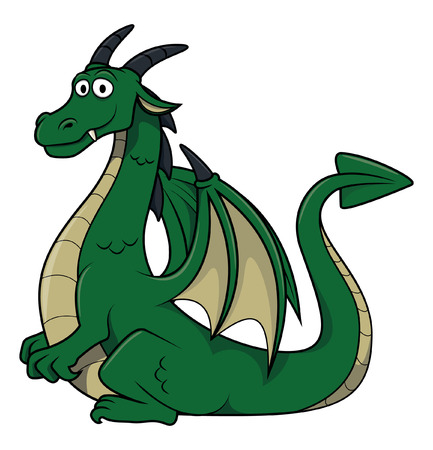 green dragon: Dragon