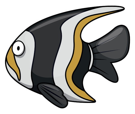 moorish idol: Moorish idol Underwater fish