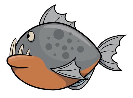 voracious: Ikan Piranha