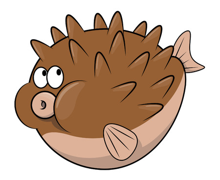bloat: Puffer fish