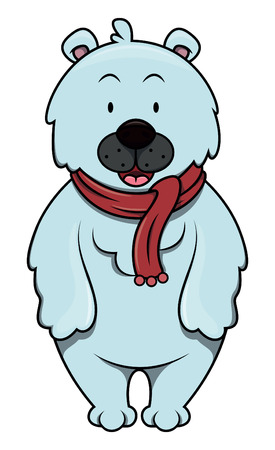 polar: Polar bear cartoon illustration