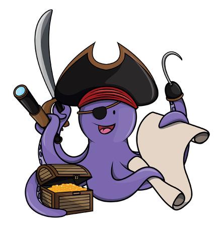 pulpo: el pulpo del pirata