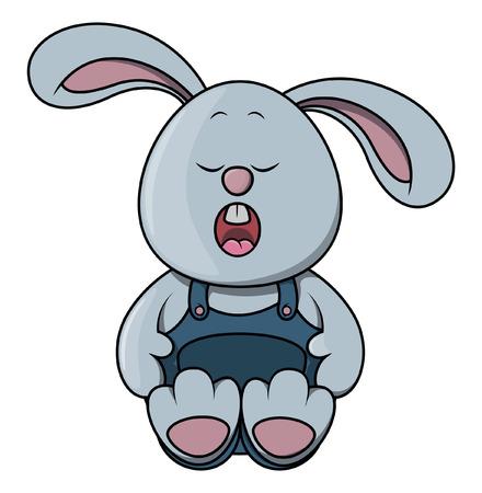 sleepy: Sleepy rabbit