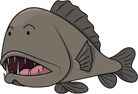 fang: Fang tooth fish Illustration