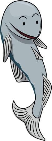 anchovy: Anchovy cartoon illustration Illustration