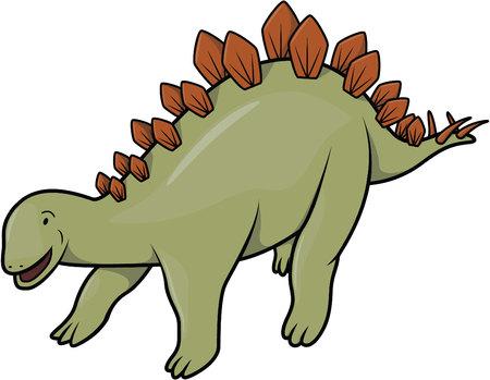 stegosaurus: Stegosaurus  Vectores