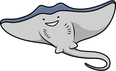manta: Stingray Illustration