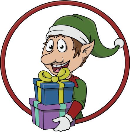 helper: Elf bring gift pack
