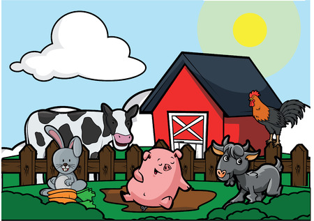 animal husbandry: animal husbandry scene