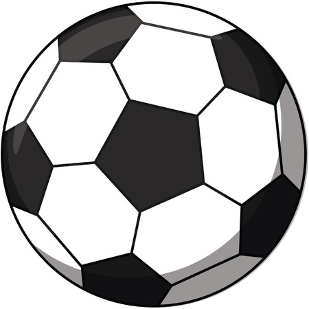 footie: soccer ball cartoon