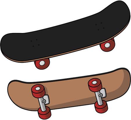 skate board: Skate board Illustration