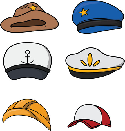 sherif: Profesion hat collection