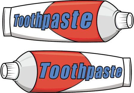 toothpaste: Toothpaste cartoon