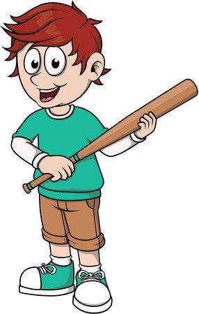 strong base: Boy baseball posing