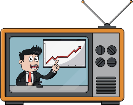 good business: Good business news Illustration