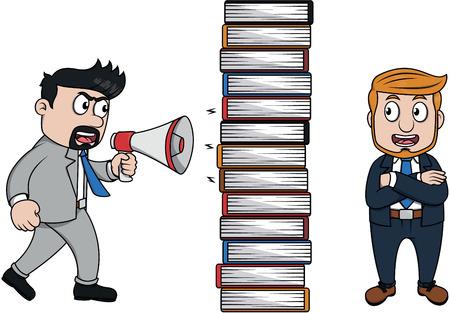 avoiding: avoiding from scolding boss