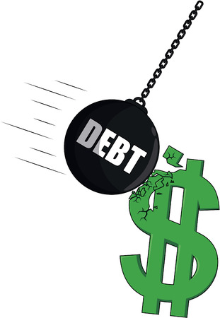 signo de pesos: dolar huelga de la deuda
