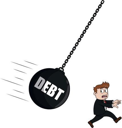 prison break: Debt businessman