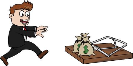 bear trap: Money trap