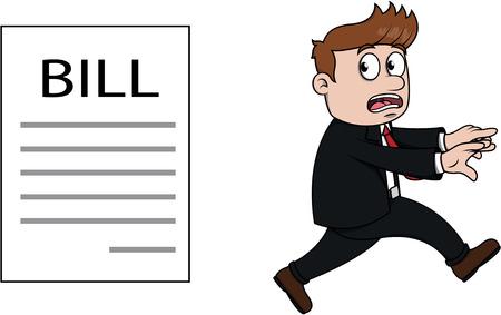 prisoner ball: Debt businessman