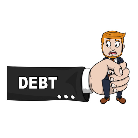 problem: Business hand debt problem