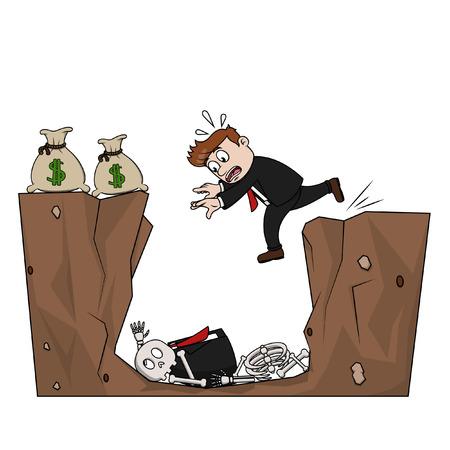 ビジネス男お金トラップ