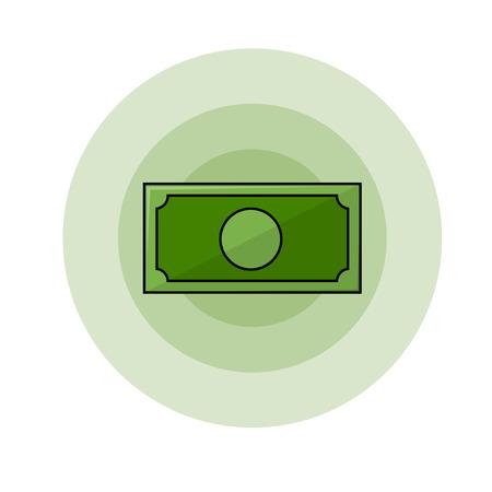 simbol: simbolo di denaro illustrazione
