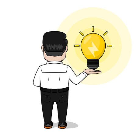 has: Employee has an idea