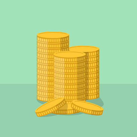 gold coin: Gold coin illustration