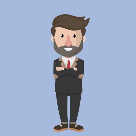 Business man goede ethiek