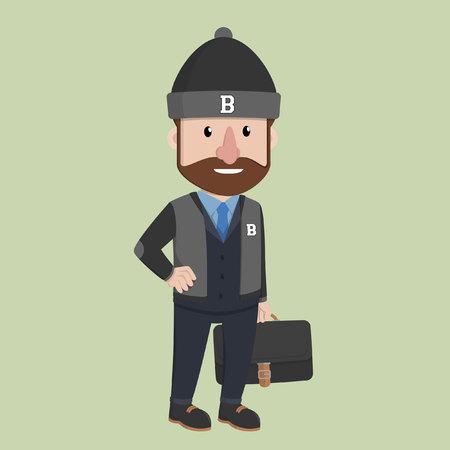 outwear: Business man outwear
