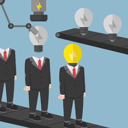 factor: Business man creative entrepreneur factor